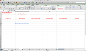 Screenshot-Excel Spreadsheet